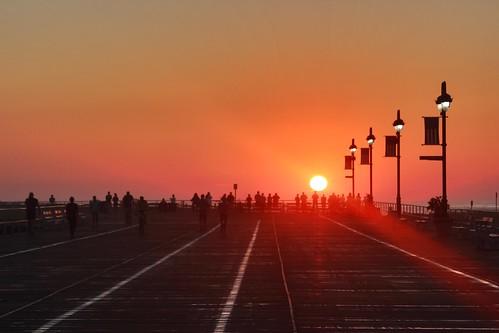 usa sunrise ocnj oceancitynewjersey