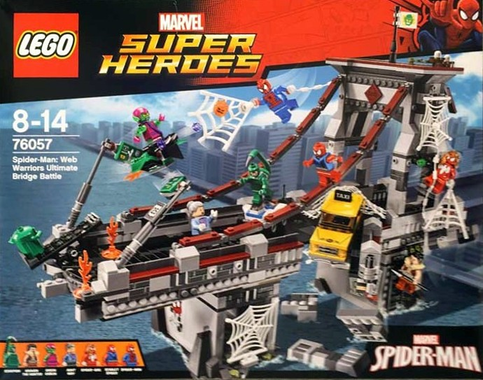 LEGO® 76057【蜘蛛人:蛛網戰士吊橋之戰】Spider-Man: Web Warriors Bridge Battle