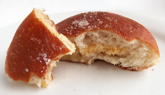 Chinese Fried bun with custard