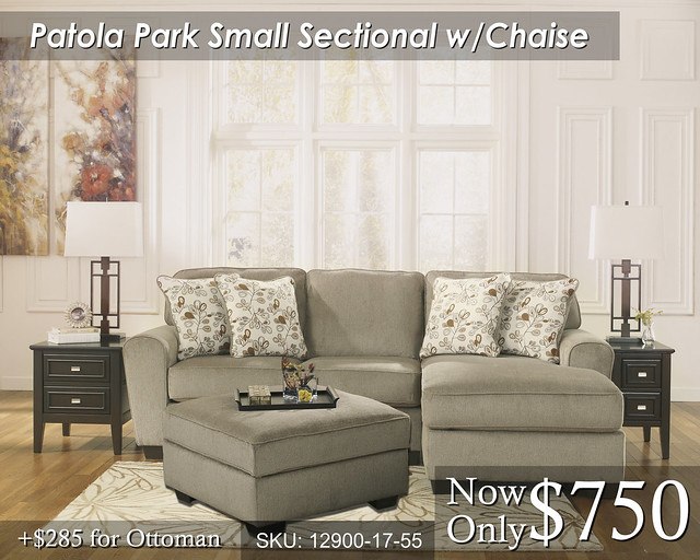 Patola Park Small Sect wChaise