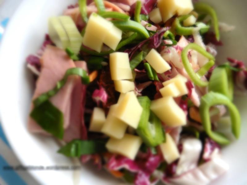 Winterlicher Wurstsalat