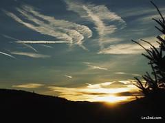 The sun sets behind Mount Pilat // Le soleil se couche derrière le Mont Pilat (depuis le Mont Ministre - Pilat - France)  #sun #sunset #mount #mountain #mountains #sky #skylovers #skyporn #instasky #clouds #cloudporn #beautiful #montpilat #montministre #c
