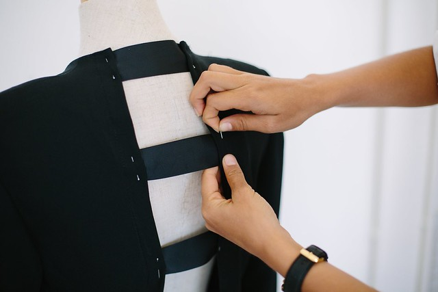 DIY Backless Blazer