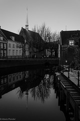 again, reflection in the canal
