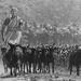 a village woman taking goats for grazing by Mijan Rashid