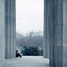 Lincoln Memorial, 1961 by Joey Harrison