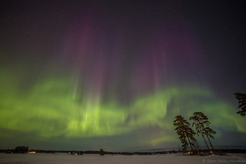 Revontulet / Aurora borealis