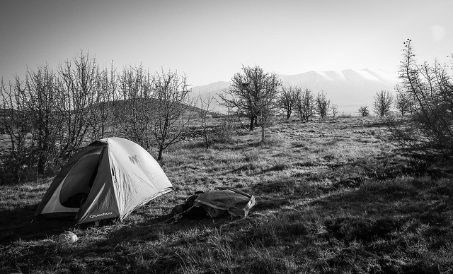 Campement Mont Olympe, Grèce