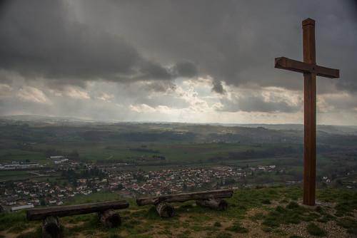 Vu de Cessieu depuis la chapelle