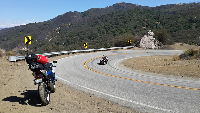 Riding Mullholland Hwy – 'The Snake'