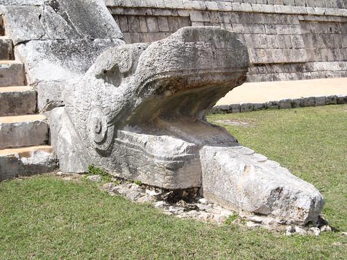 Chichen Itza: el Castillo et ses 2 serpents à plumes