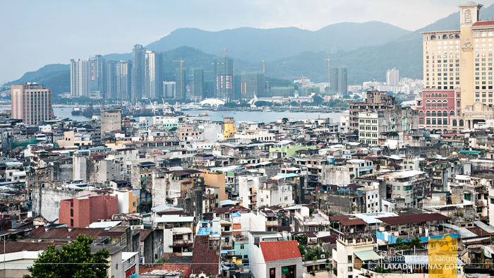 Unesco View from Fortaleza do Monte Macau China