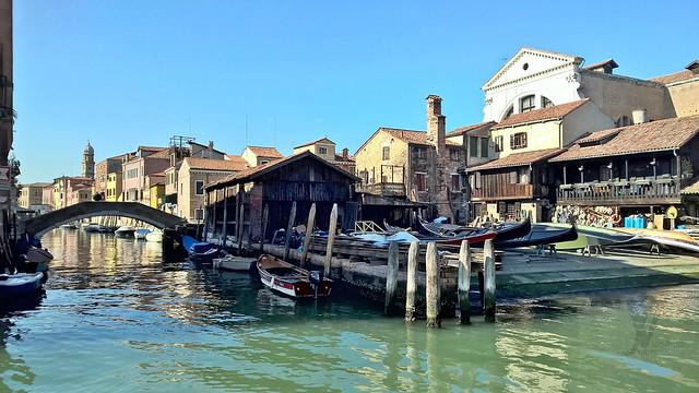 The most famous Venetian boatyard