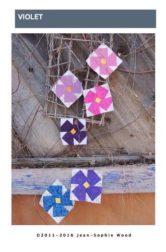Violet Block Pattern Cover Image