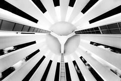 Under a water tower in infrared. Uppsala, Sweden