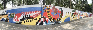 Hunting graffitis while i'm bike riding