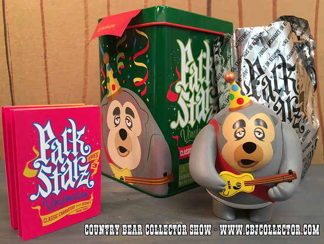 2014 Disney Vinylmation Park Starz Limited Edition Big Al Figure - Country Bear Collector Show #026