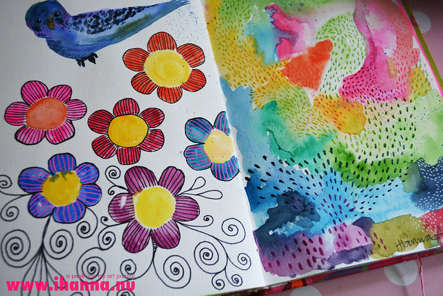A Peek into the Art Journal of iHanna - created by iHanna