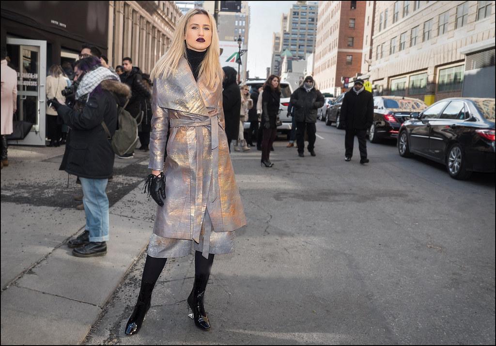 On The Street ...NYFW 2-2016