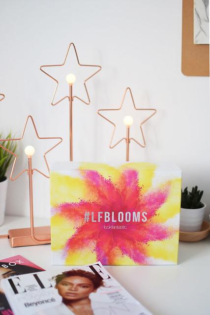 LFBLOOMS April Lookfantastic Beauty Box