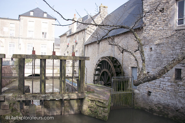 The 'Aure' river in Bayeux