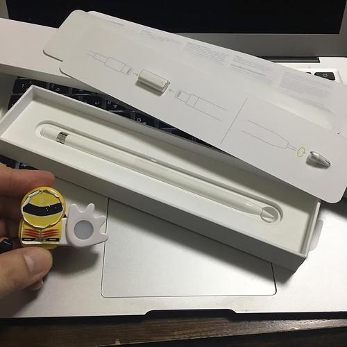 交換用のペン先と、Lightningのメス-メスコネクタも同梱