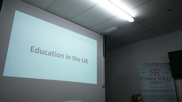Education in the UK Seminar 2016-04-25