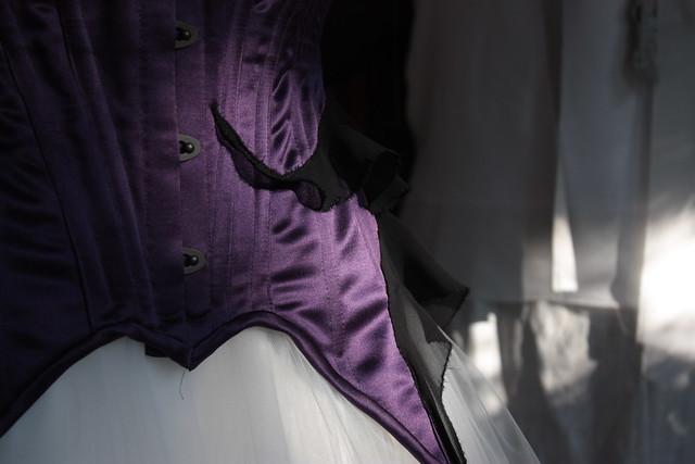 Corset pour robe de mariée gothique