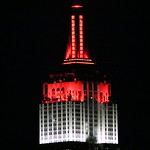 Empire State Building honors American Red Cross