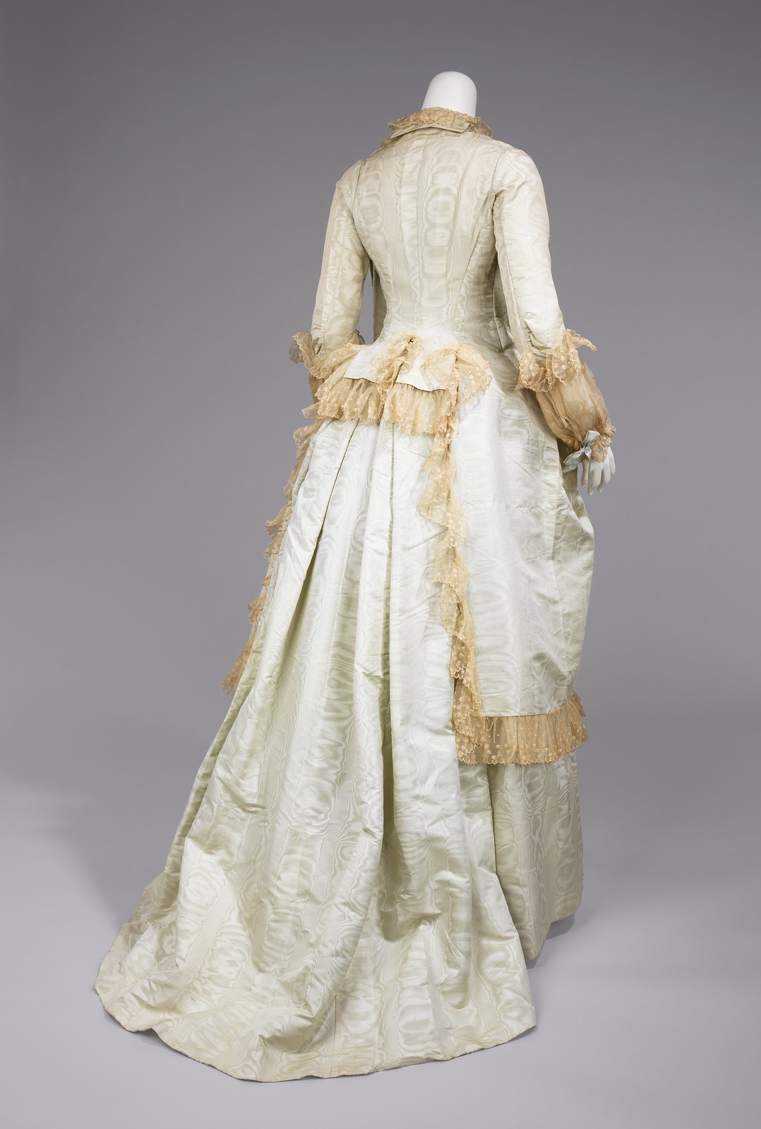 c1878. American. Silk, cotton. metmuseum