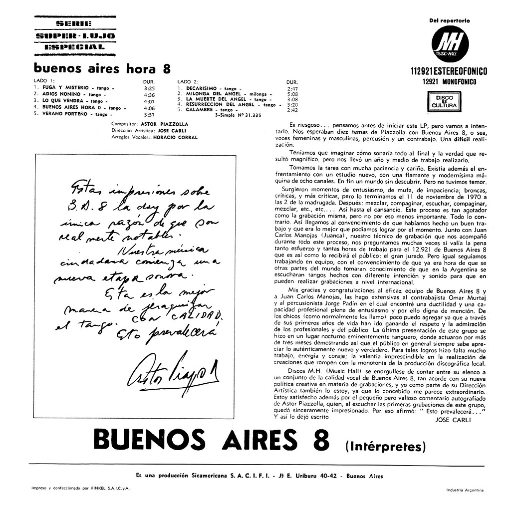 Buenos Aires 8 ‎- Buenos Aires Hora 8