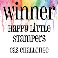 Happy Little Stampers - CAS Winner Badge