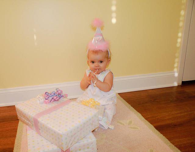 Vivianne 1 Year Old