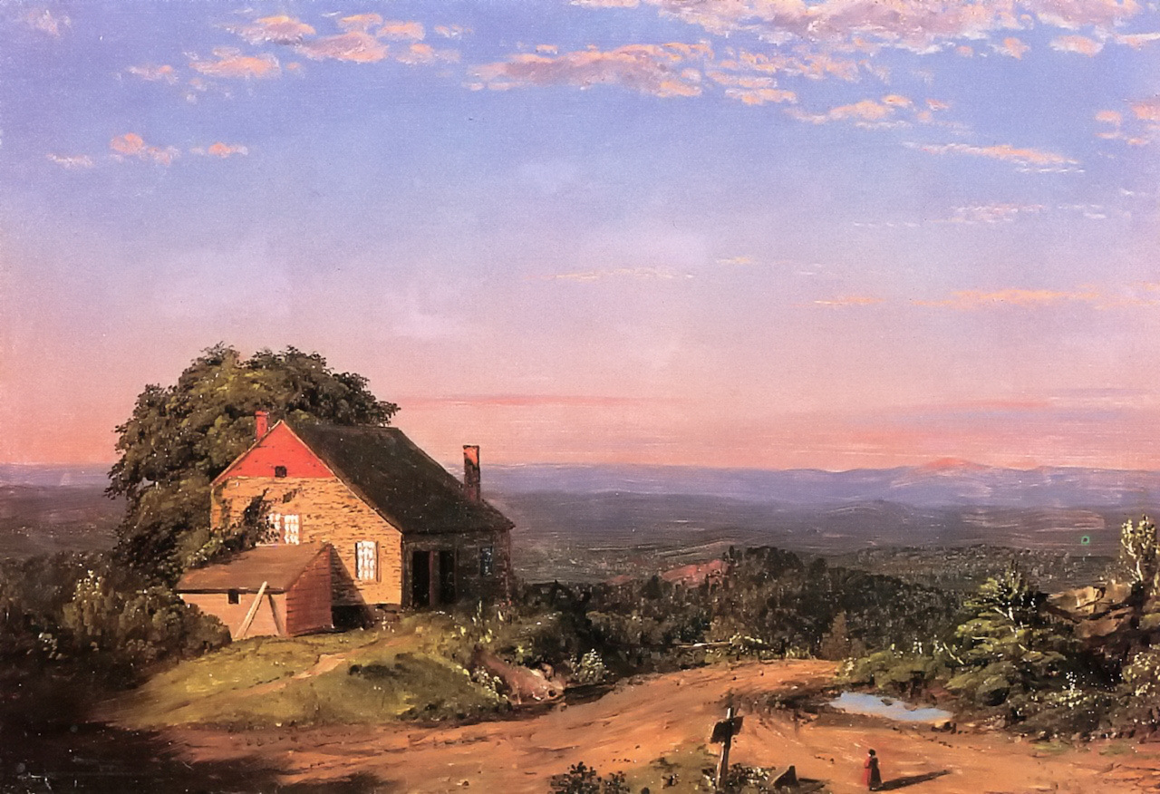 Twilight in the Adirondacks by Frederic Edwin Church