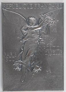 1900 Summer Olympics Silvered Bronze Winner's Medal obverse