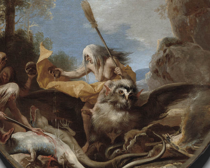 Salvator Rosa - Scene with Witches - Day (detail), 1645-1649