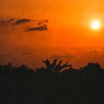 Fin de journée à Bangui