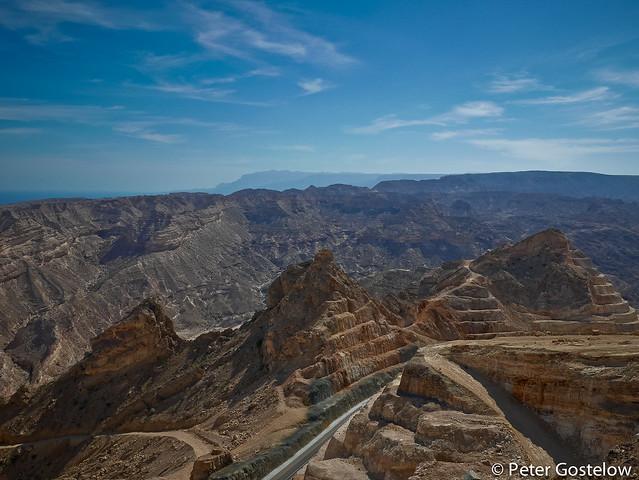 Southern Oman coastal road