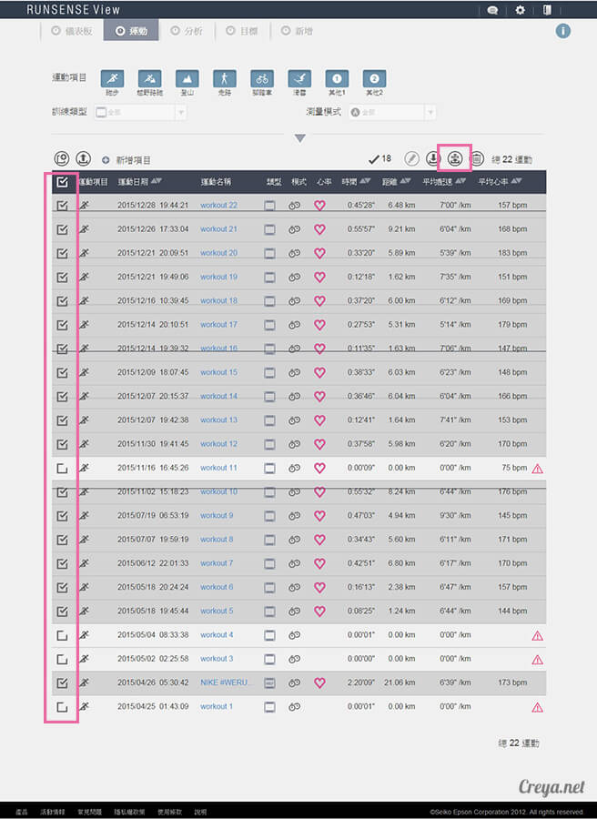 2015.12.30▐ 跑腿小妞▐ EPSON RUNSENSE SF-810 與 NIKE+ RUNNING 數據同步一家親 06.jpg