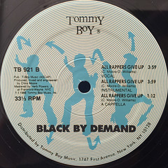 BLACK BY DEMAND:CAN'T GET ENOUGH(LABEL SIDE-B)