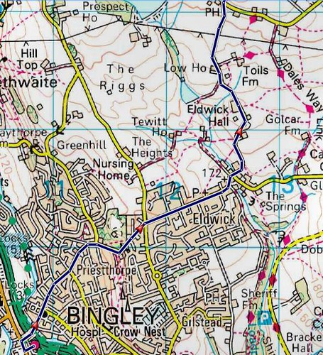 Bingley to Ilkley walk part 1