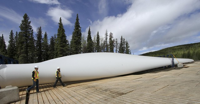 Quality Wind Farm at Tumbler Ridge, B.C.