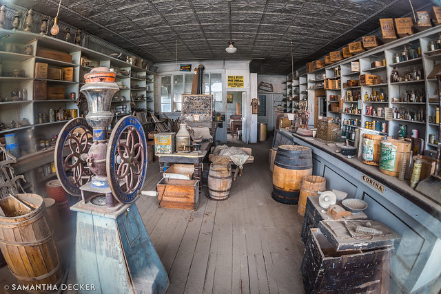 A Peek Inside the Bodie General Store
