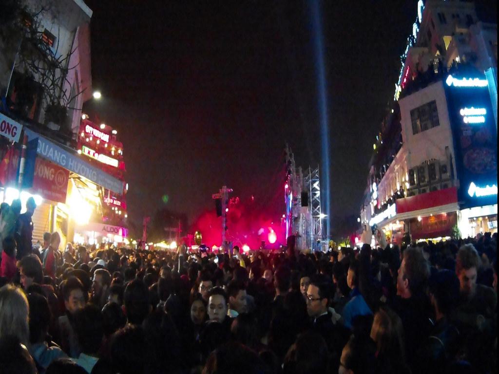 nytår i Hanoi