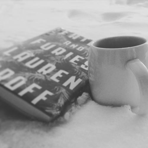 Snow day tea and reading. #bookstagram #blizzard2016