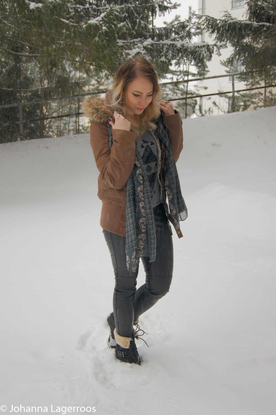 snowday look