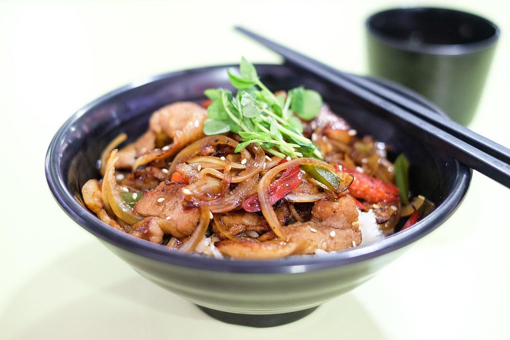 Kitchen @ Work's Yaki Niku Don @ Ci Yuan Hawker Centre