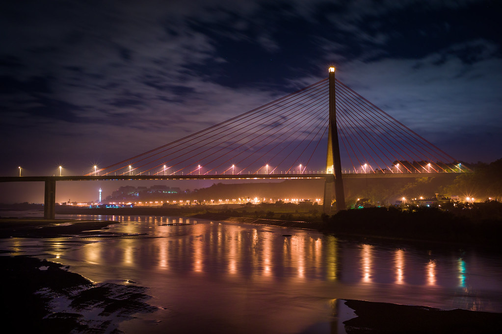 雨後斜張橋&福爾摩沙高速公路