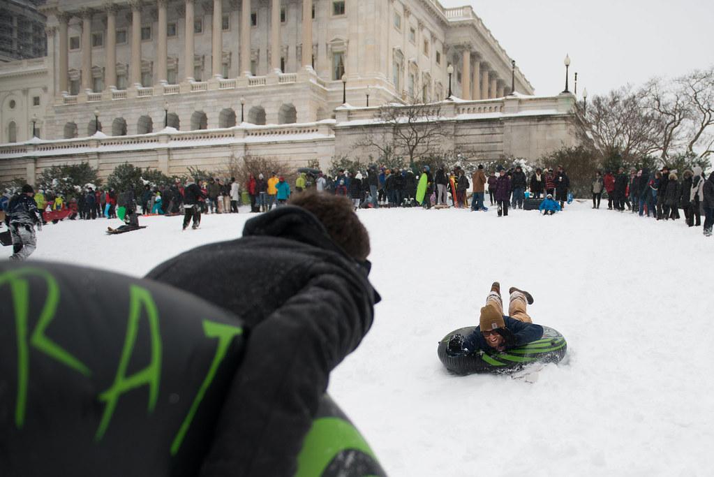 Capitol Sledding