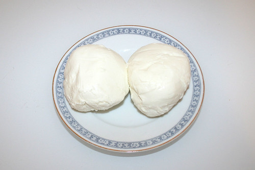09 - Zutat Mozzarella / Ingredient mozzarella